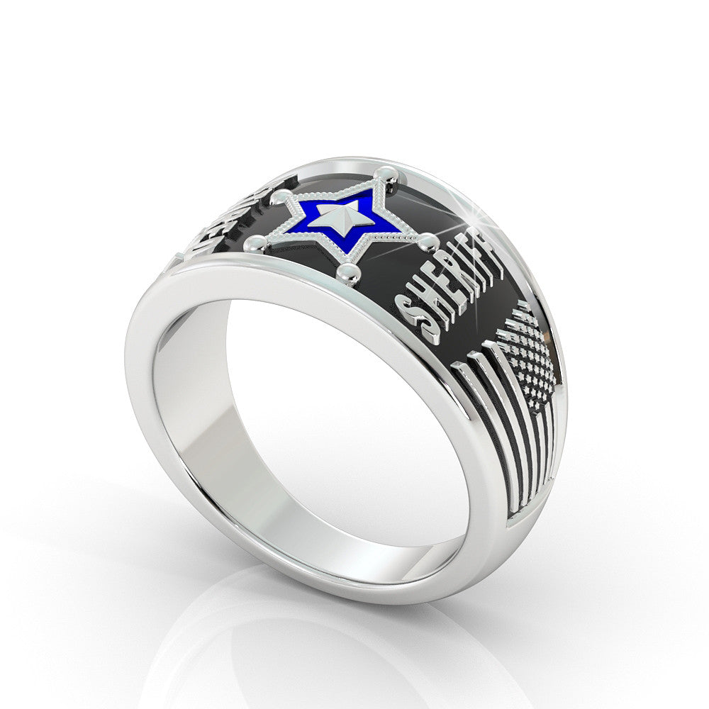 Ladies Retired 5 Point Sheriff Ring