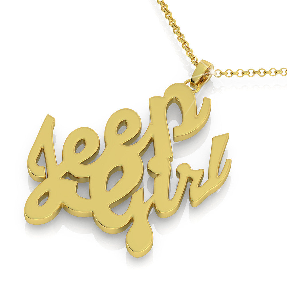 Jeep Girl Pendant