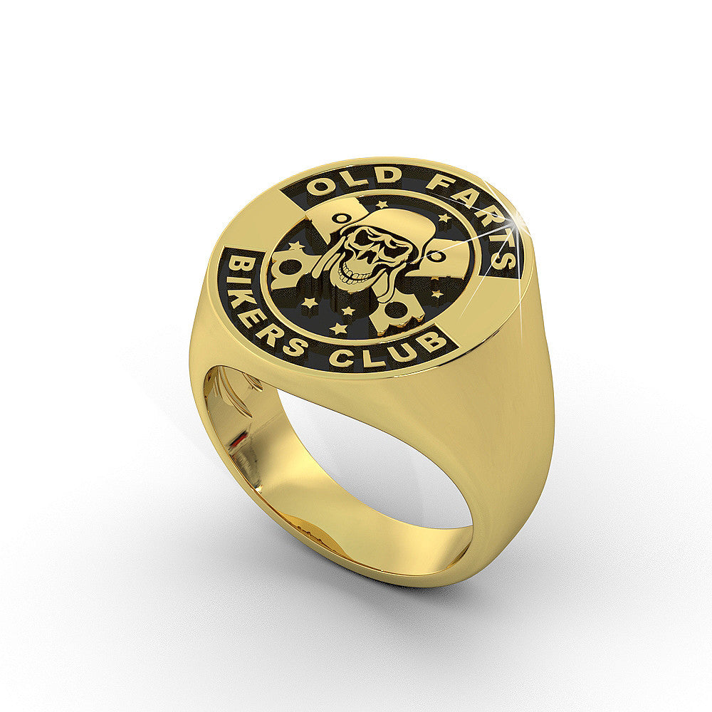 Old Farts Bikers Club Ring