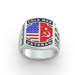 US Coast Guard Cold War Ring - Limited Edition