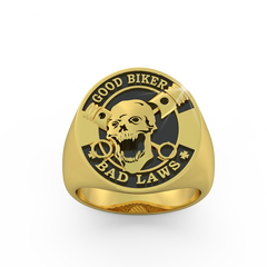 Good Biker Bad Laws Ring