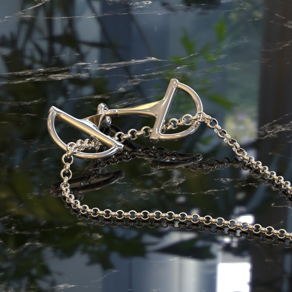 Snaffle Bit Slider Necklace