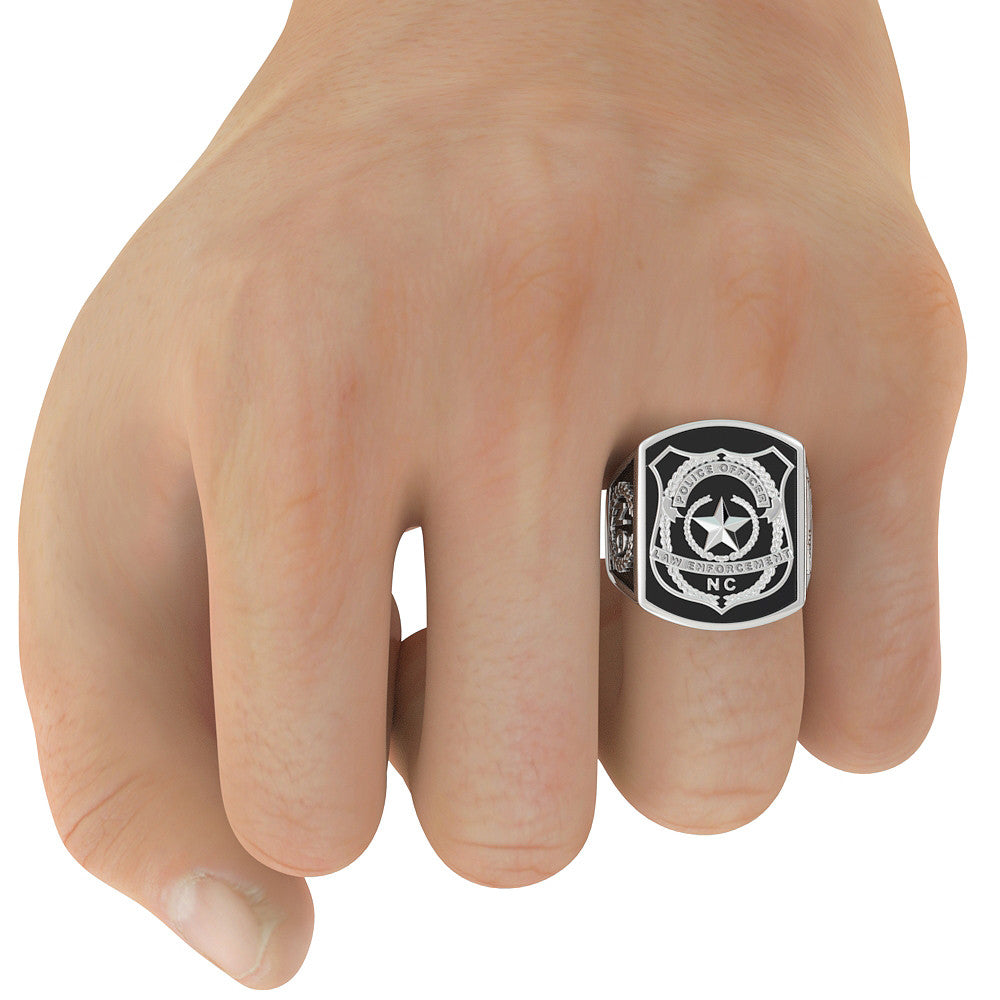 North Carolina Police Officer Ring - Limited Edition