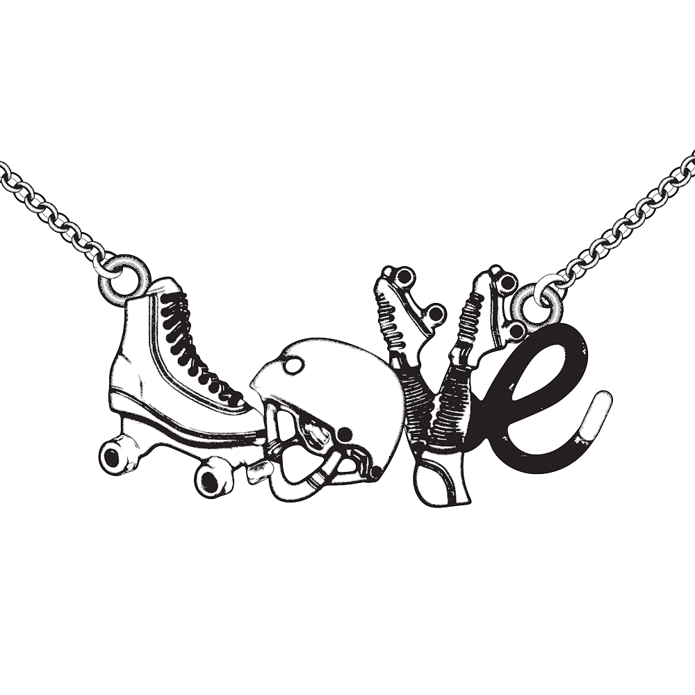 Roller Girl - Limited Edition Pendant