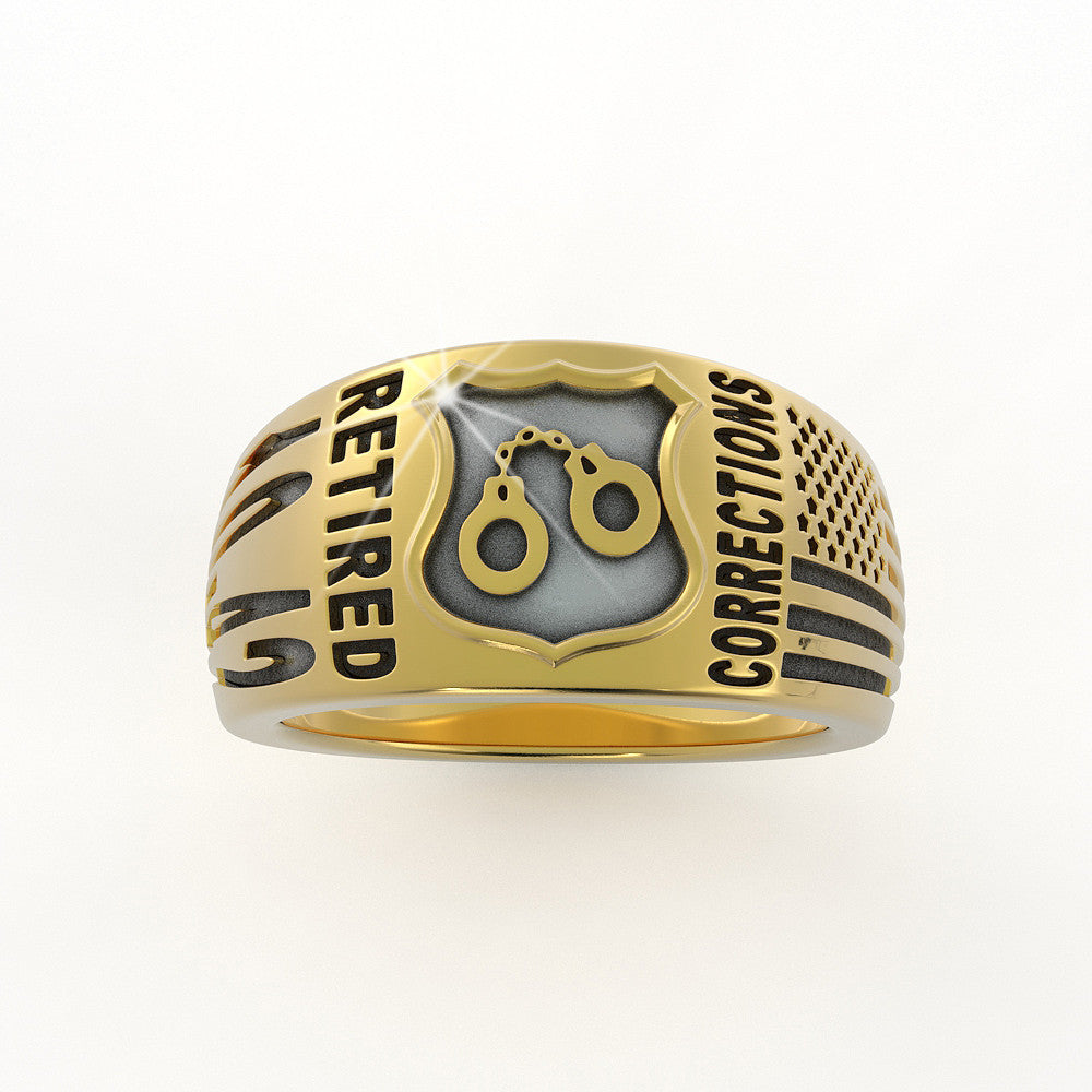 Retired Corrections Ring