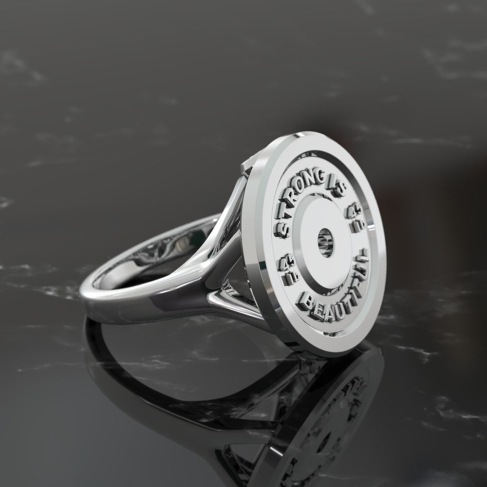 Strong Is Beautiful Ring