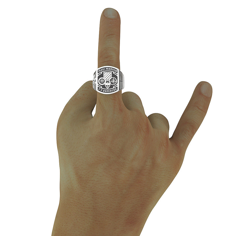 Iraqi Freedom Task Force Enforcer RING