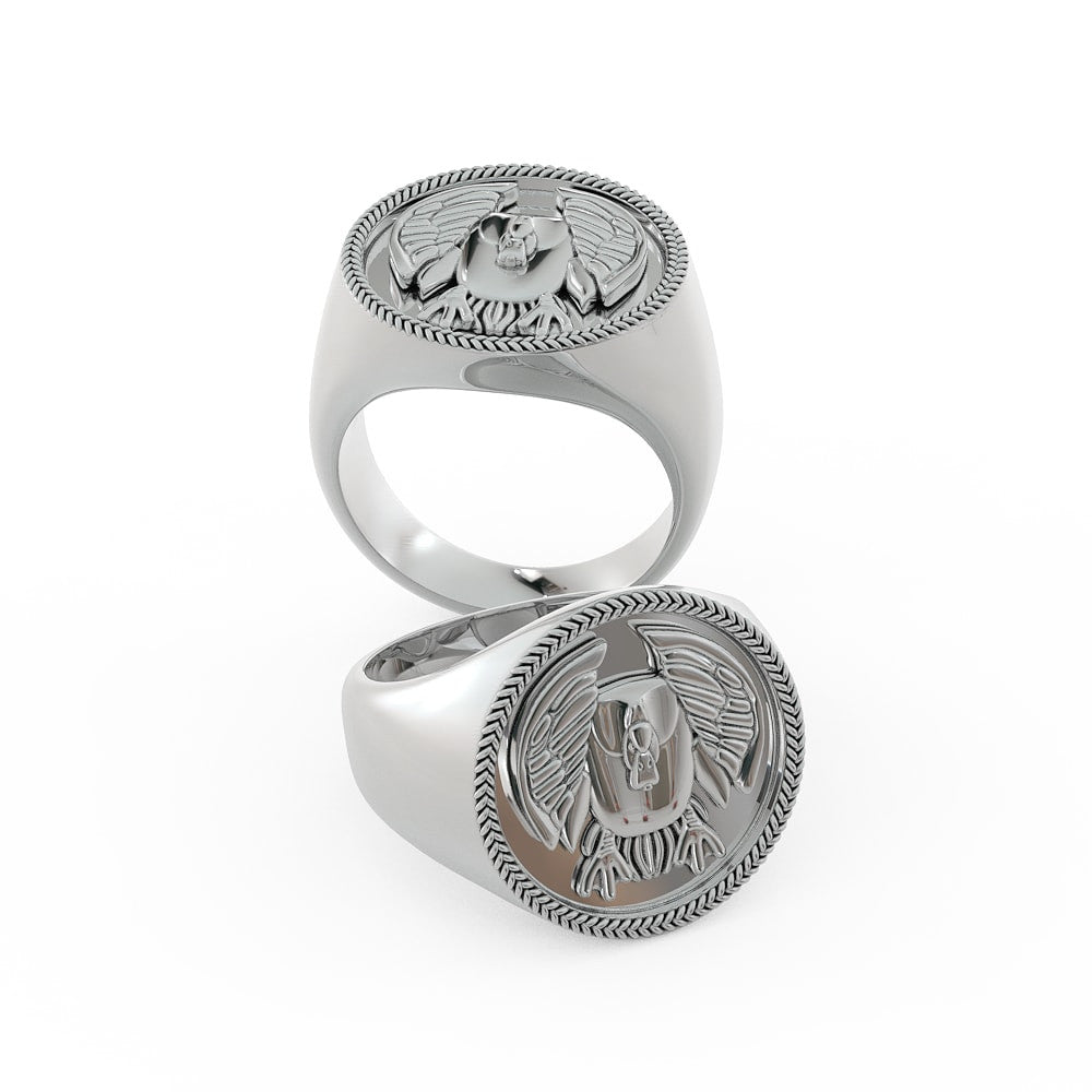 Cupped Drake Ring