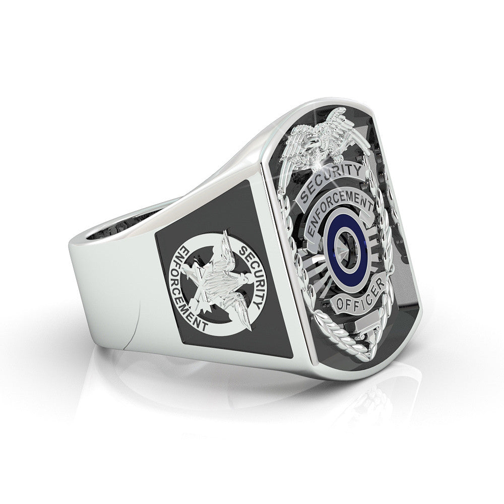 Security Enforcement Officer Ring