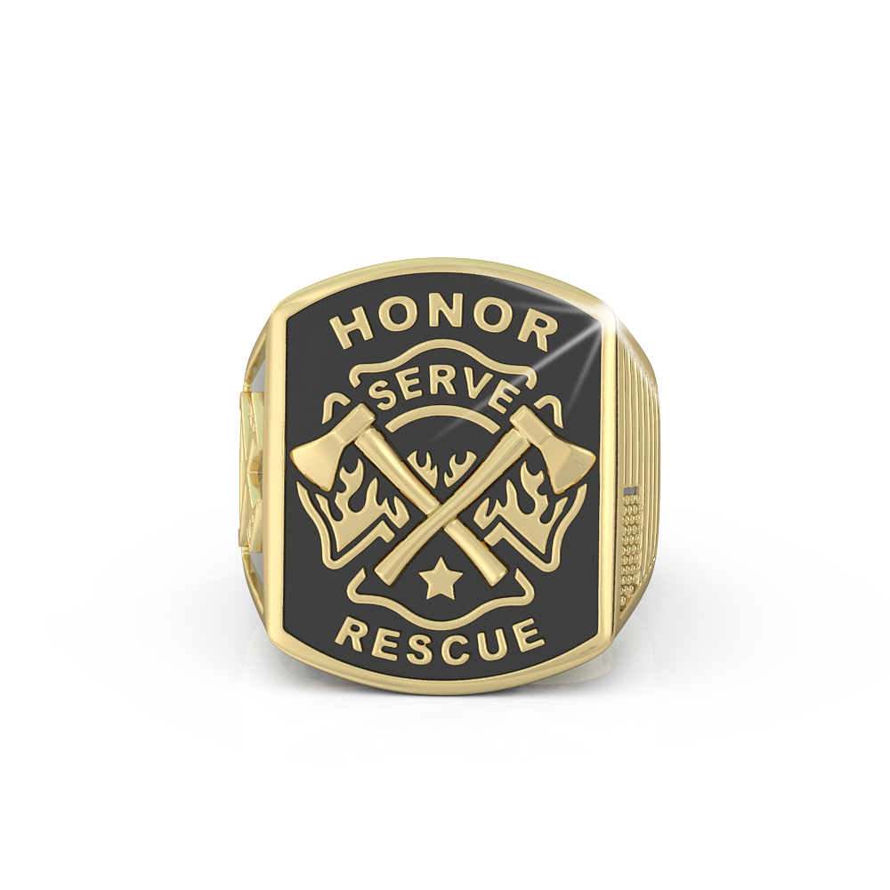 Honor Serve Rescue Ring