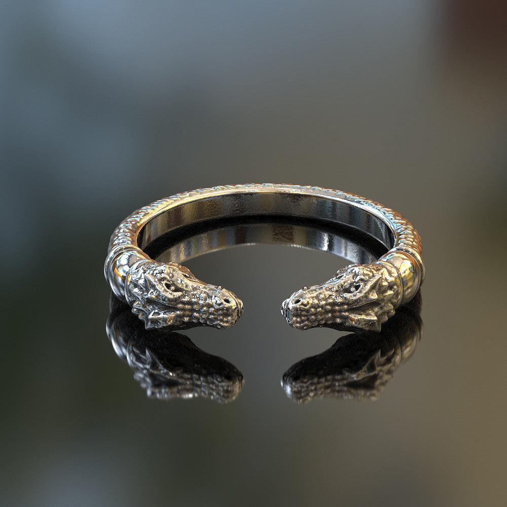 Adjustable Gator Ring