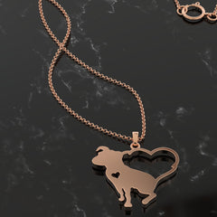 Love My Pit Bull Necklace
