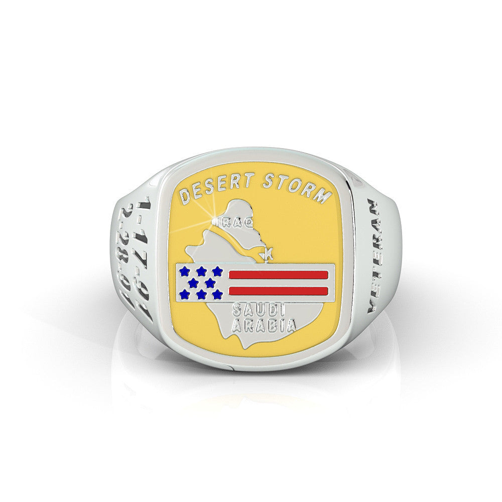 Ladies Operation Desert Storm Ring