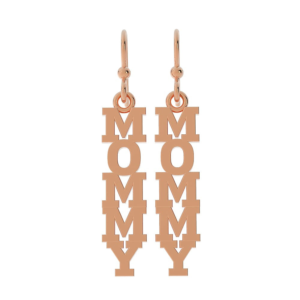 Mommy earrings