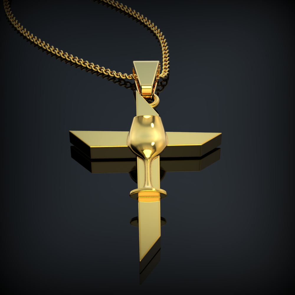 Vine Cross Necklace - LIMITED EDITION