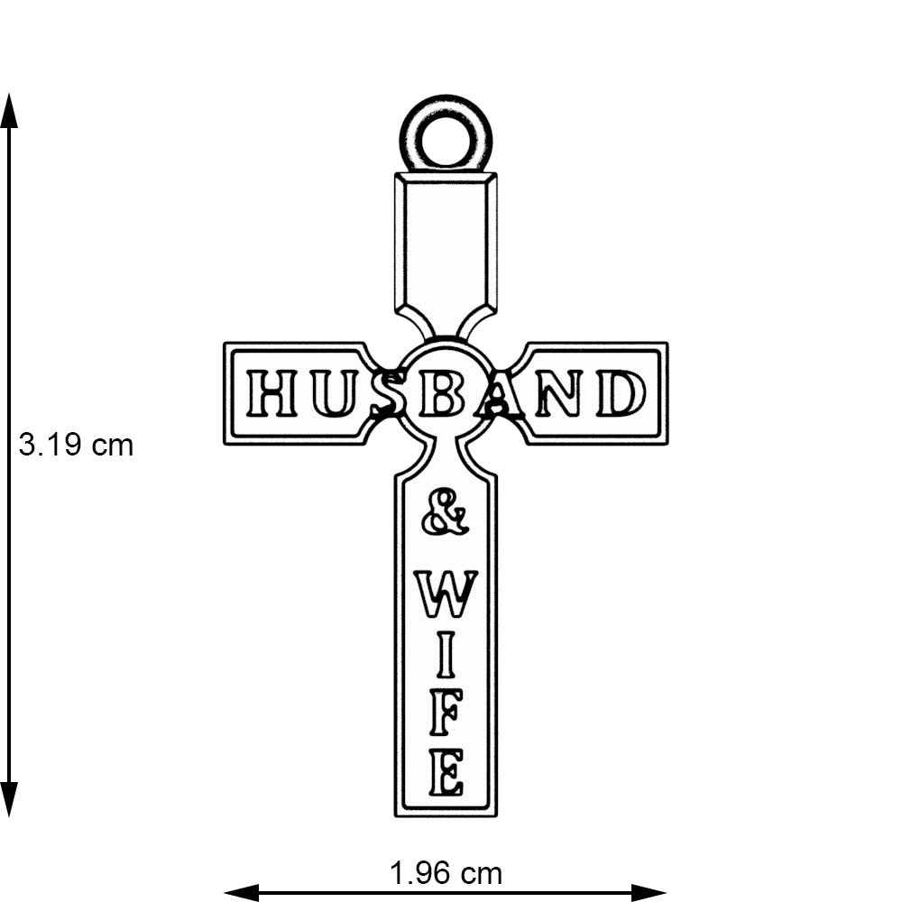 Husband To Wife Necklace