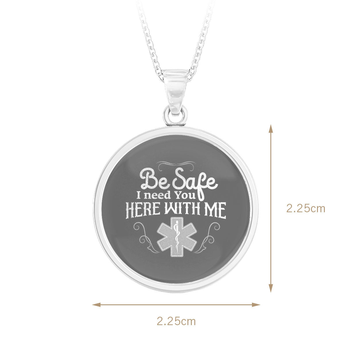 Be Safe EMT Pendant