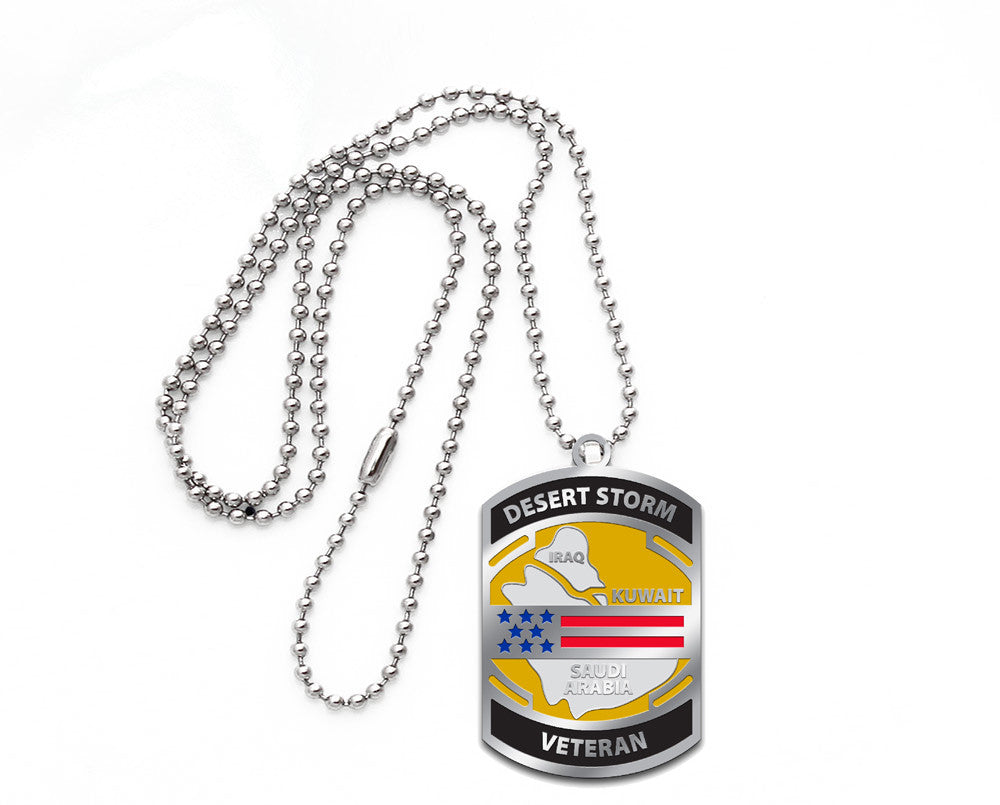Dog Tags - Desert Storm Veteran