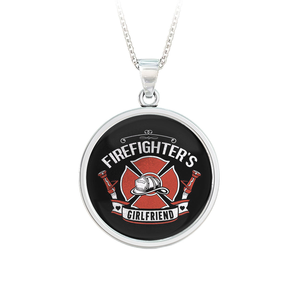 Firefighter's Girlfriend Pendant