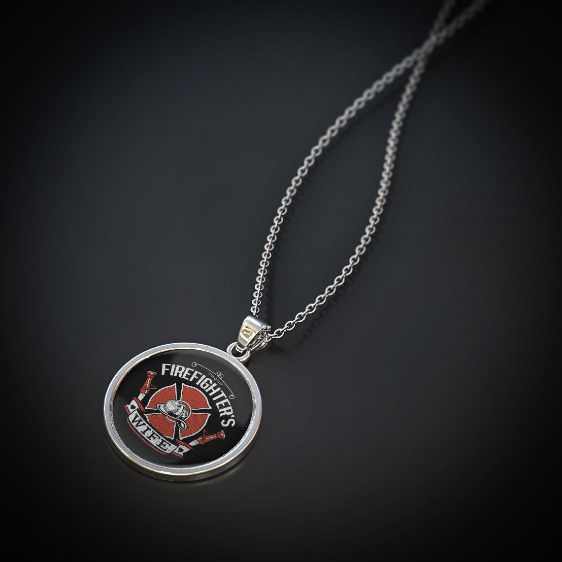 Firefighter's Wife Pendant