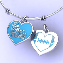 Football Mom charm (.925 silver) ** Limited Edition **