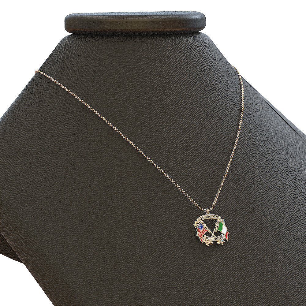 Italian Nation Heritage Necklace