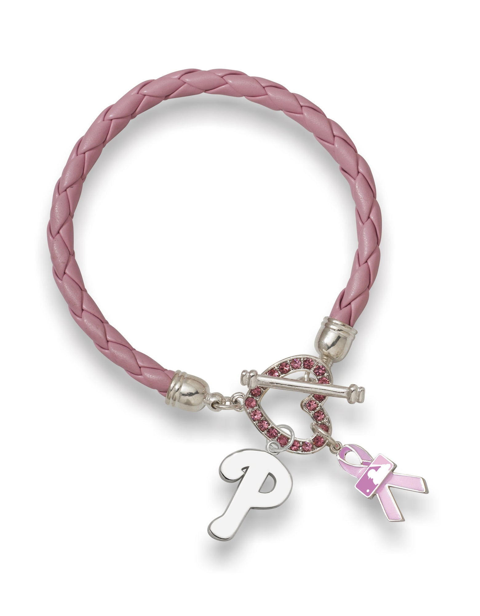 PHILADELPHIA PHILLIES LEATHERETTE BCA BRACELET