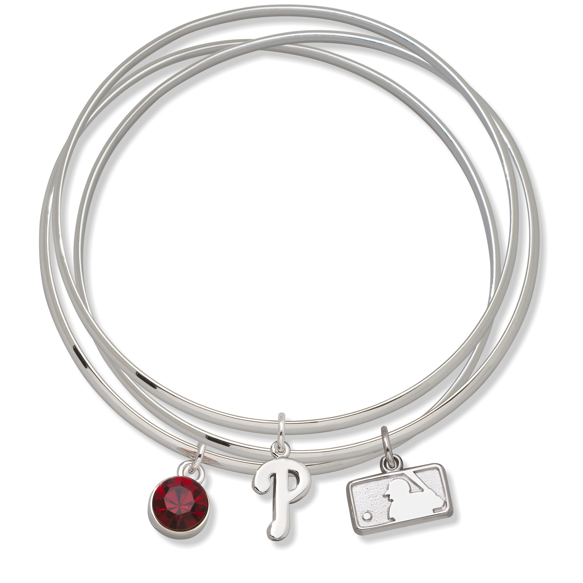PHILADELPHIA PHILLIES BATTERMAN TRIPLE BANGLE