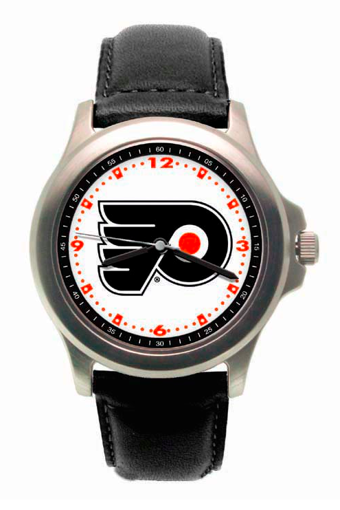 PHILADELPHIA FLYERS ROOKIE LEATHER WATCH