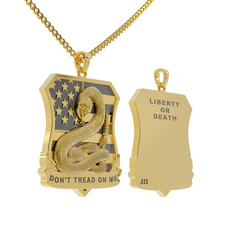 Liberty or Death Necklace