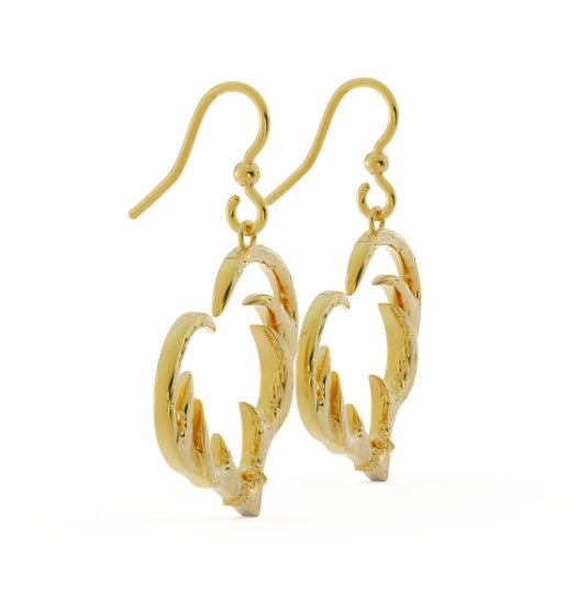 Hooked on Hunting Earrings