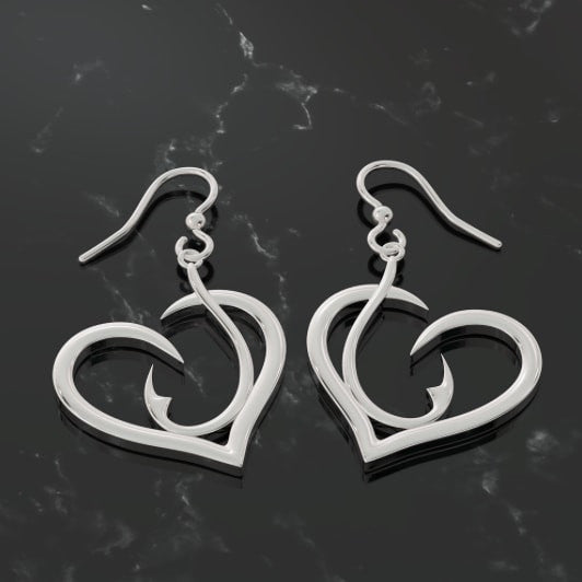 Hooked on Fishing Earrings
