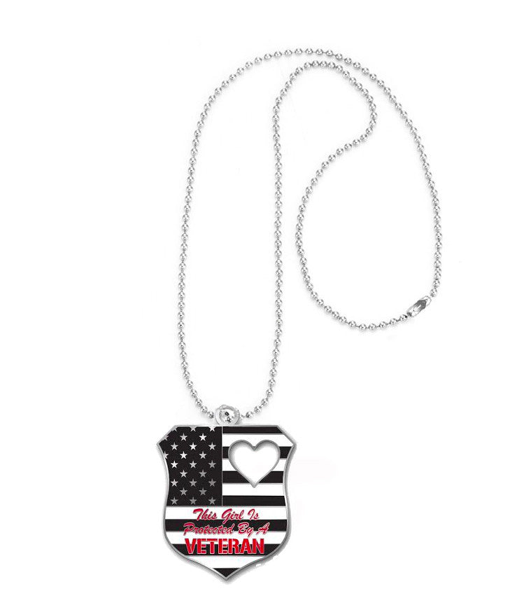 Dog Tags - Protected by a Veteran