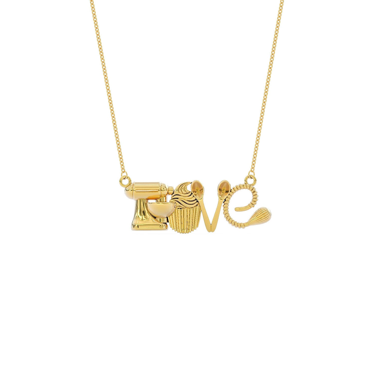 Love Baker Necklace  ** Limited Edition **