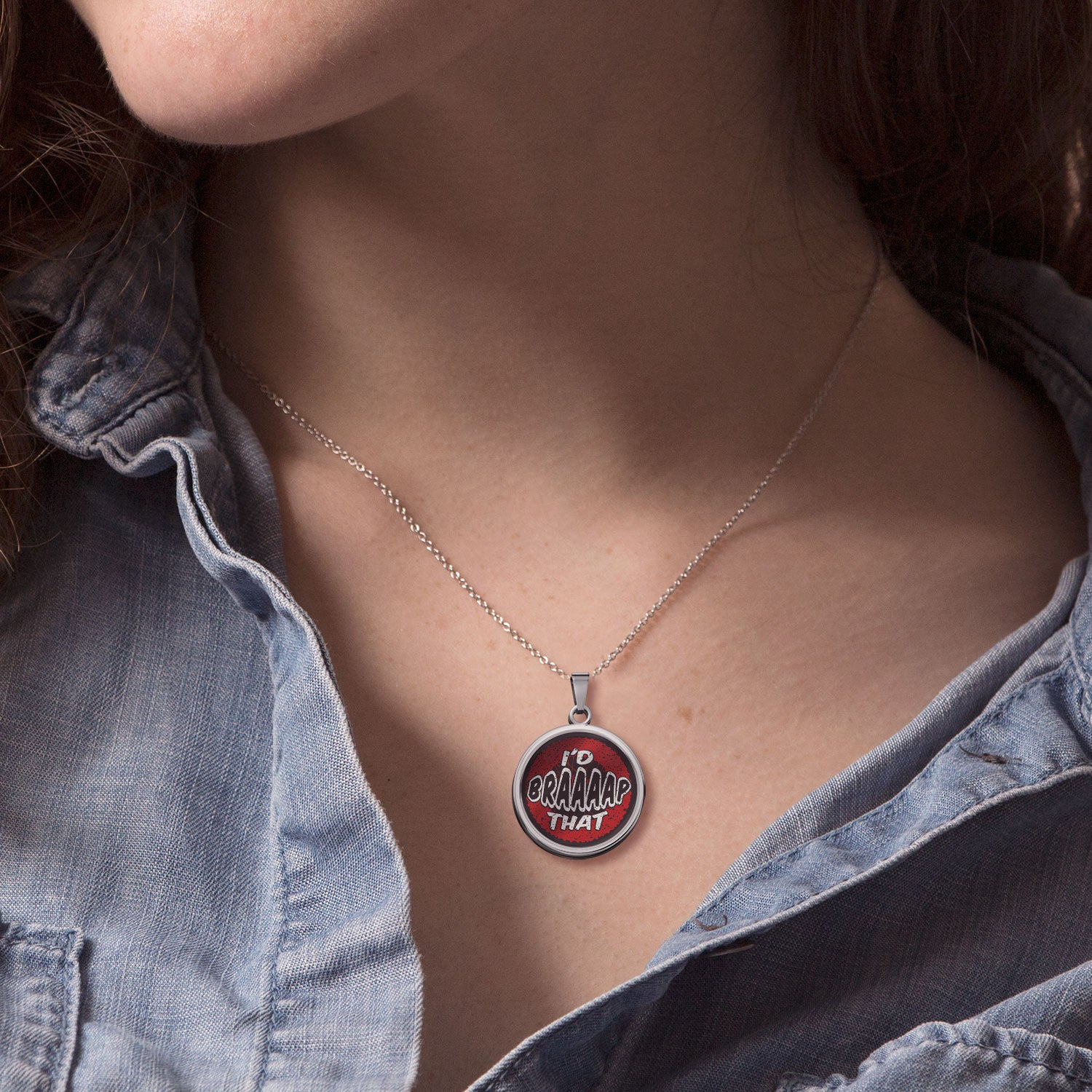 I'd BRAAAAP That Pendant - LIMITED EDITION