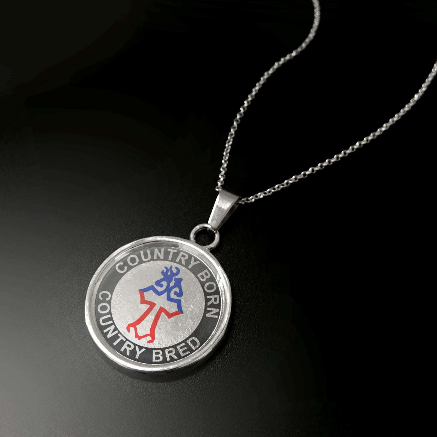 Country Born, Country Bred Pendant