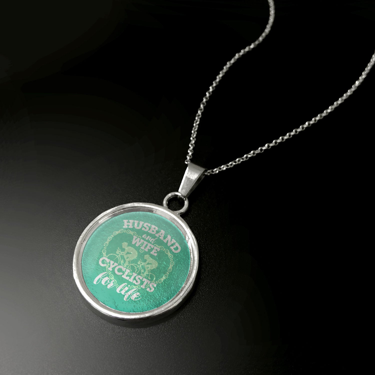 Cyclists For Life Pendant - LIMITED EDITION