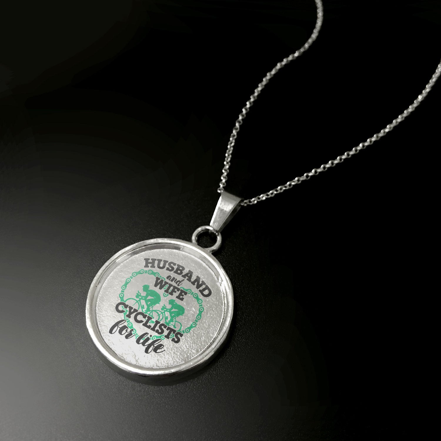 Cyclists For Life Pendant