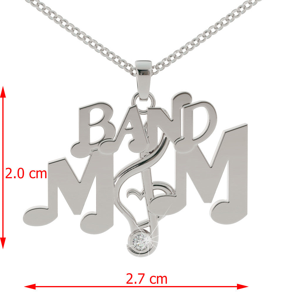 Band Mom Pendant – Get 10% Off Now Only - The First 100 People Only