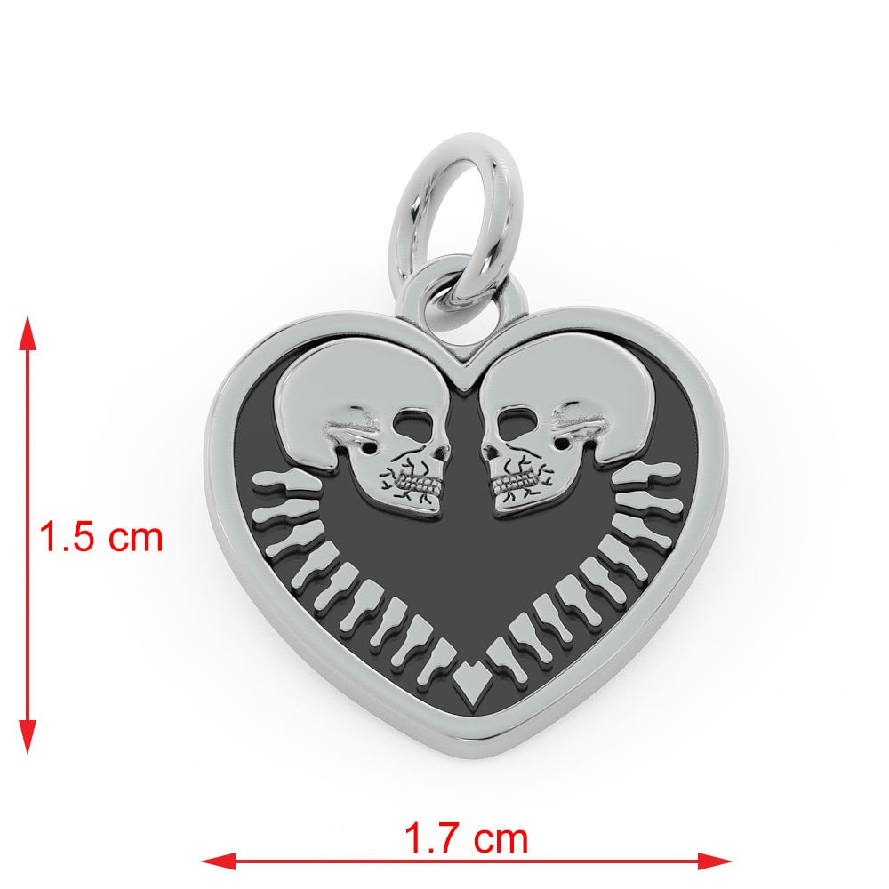 GR Two Hearts Pendant