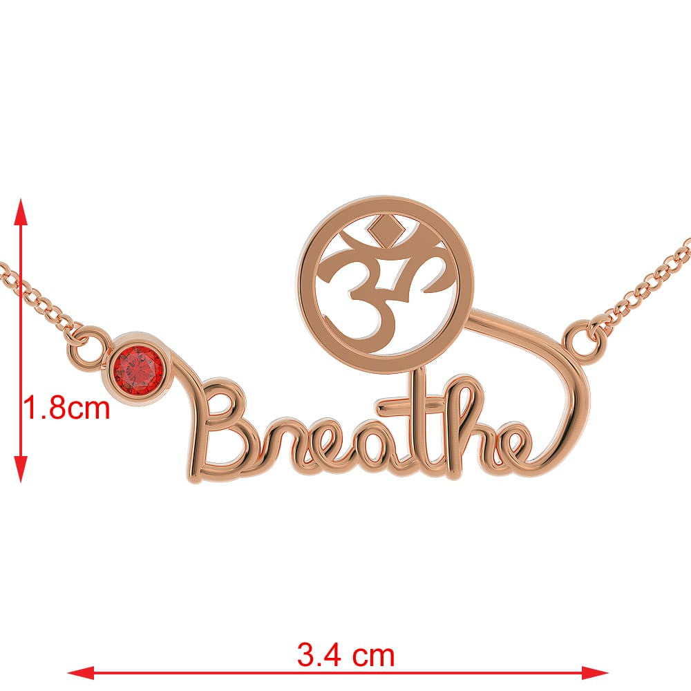 LIMITED EDITION - Breathe Necklace