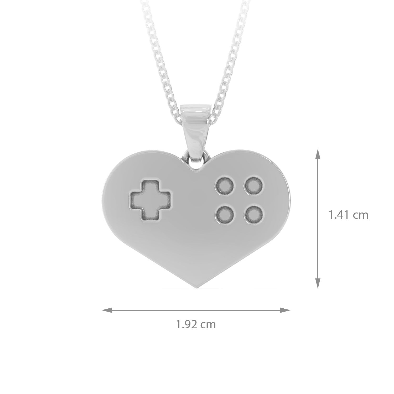 Heart Gaming - Necklace -strictly limited edition
