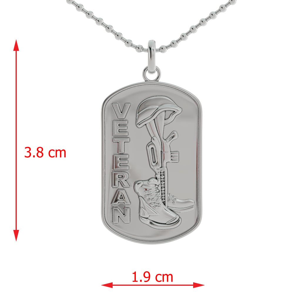 Lest They Be Forgotten Dog Tag
