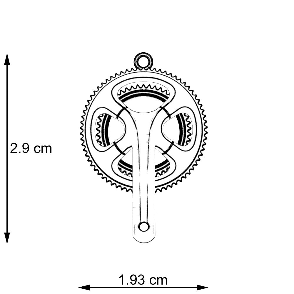 Crank Set Pendant - STRICTLY LIMITED EDITION