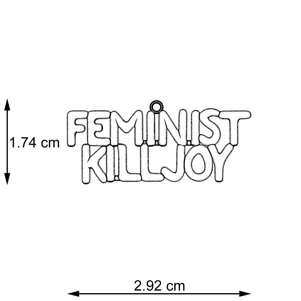 Feminist Killjoy Necklace