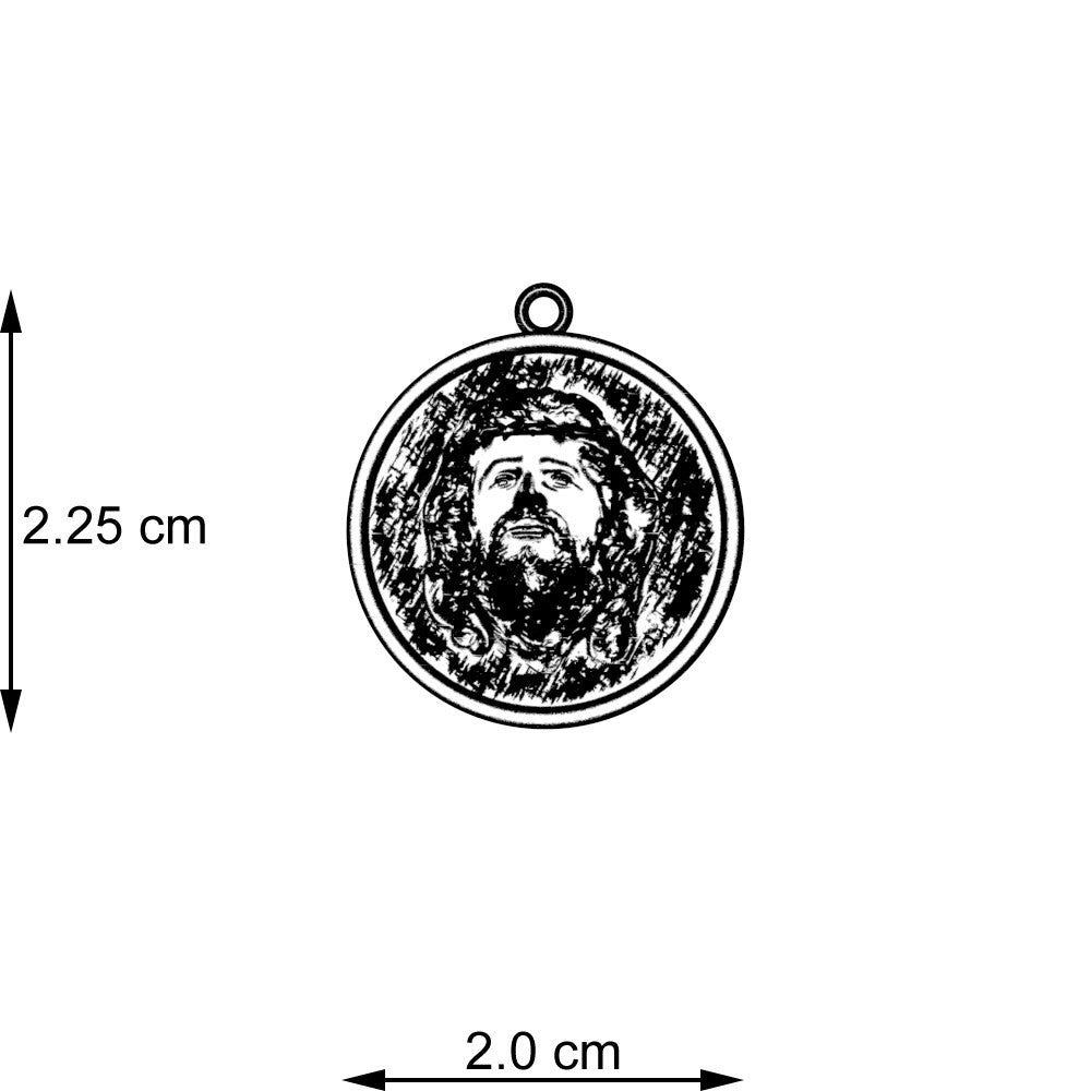 Jesus The Good Shepherd Pendant
