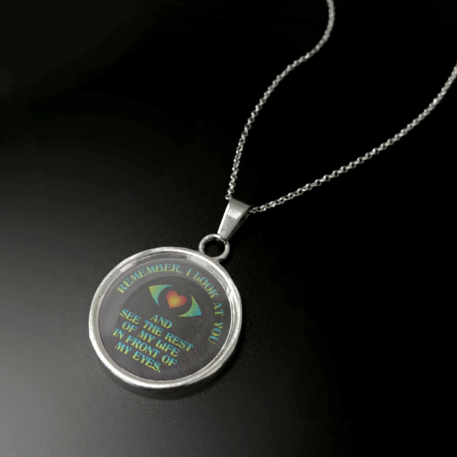 I Look At You Pendant