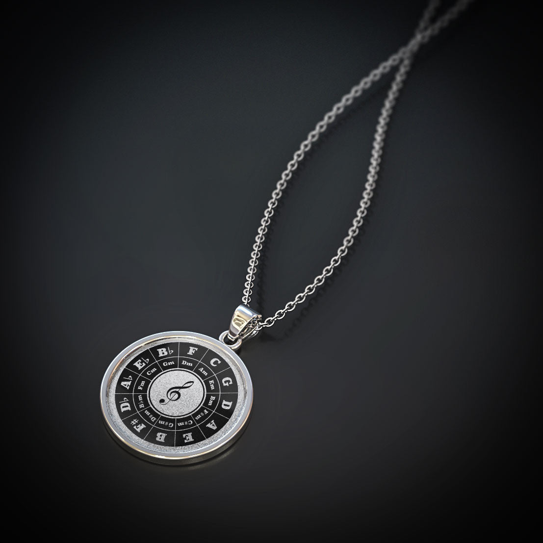 Circle of Fifths Pendant