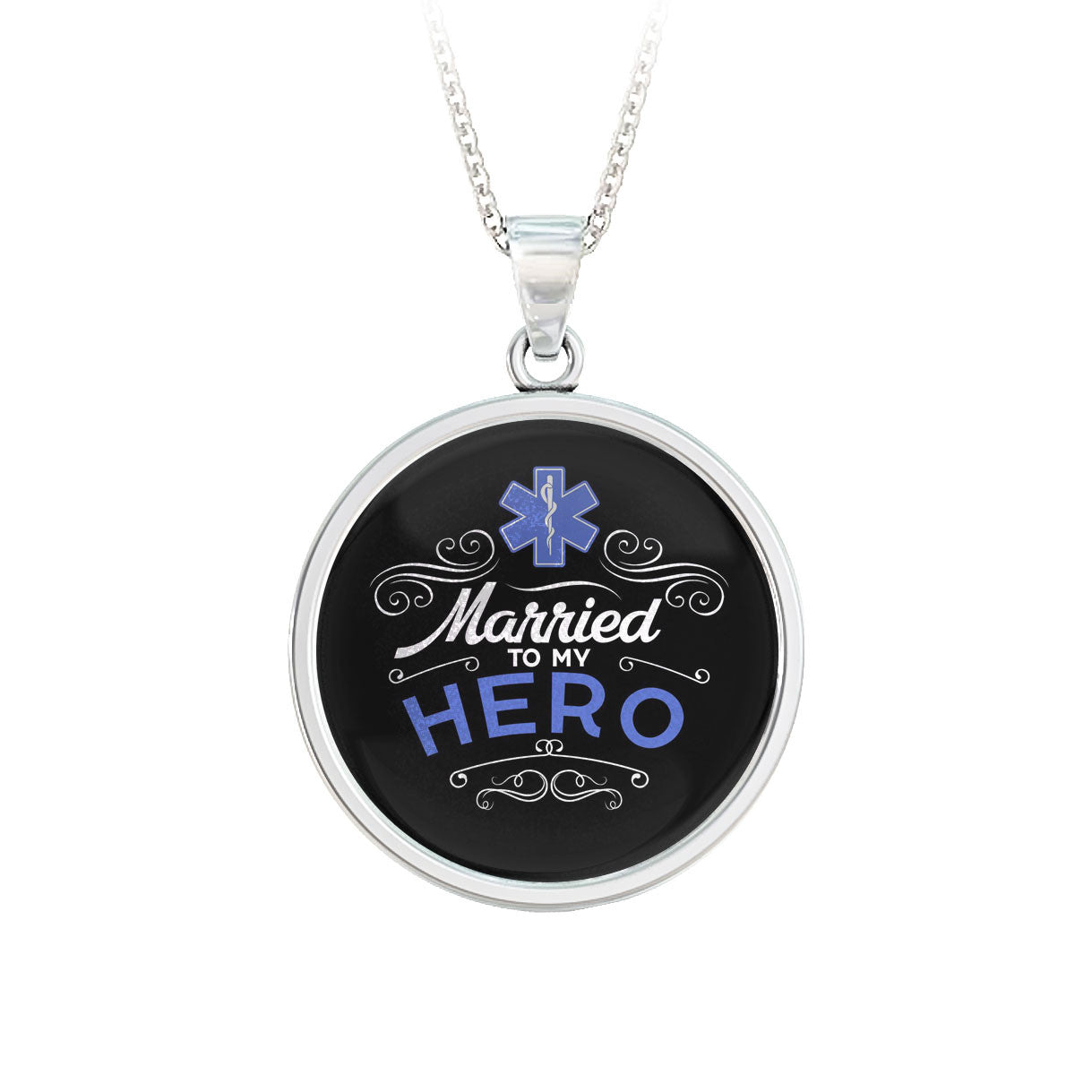 Married To My Hero EMT Pendant