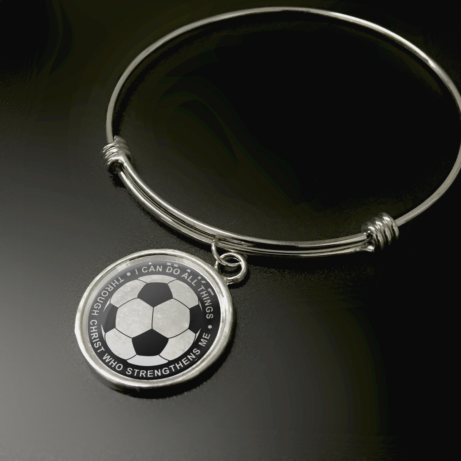 I Can Do All Things Soccer Pendant